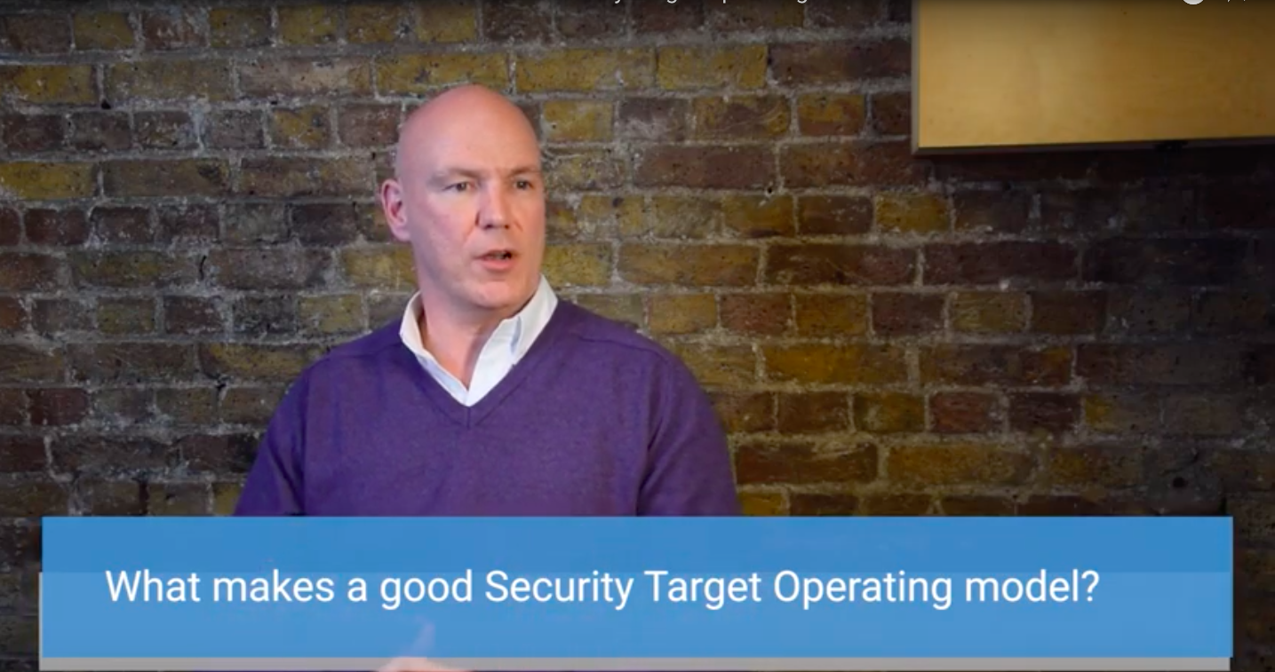 Shanne Edwards explains what makes a good Security Target Operating Model.