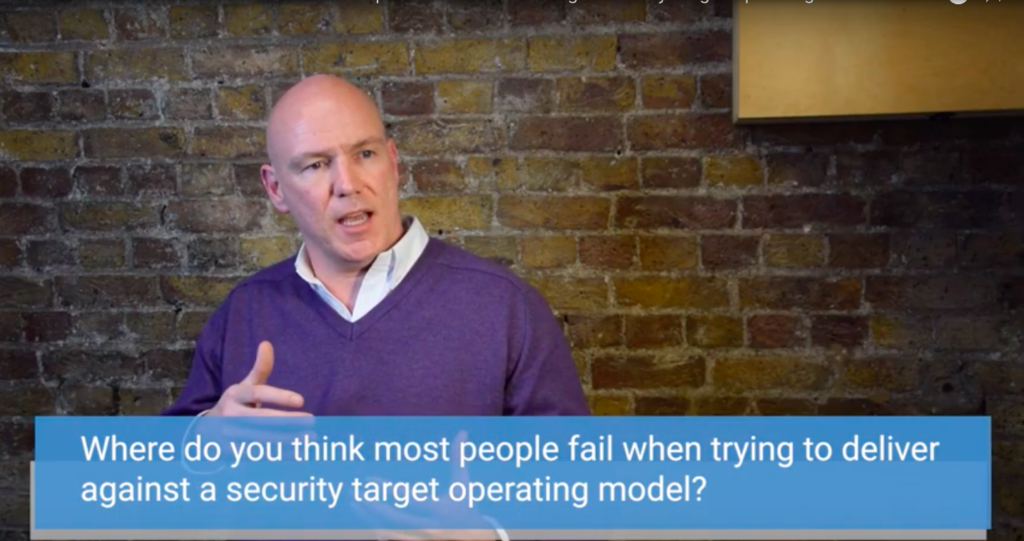 Shanne Edwards explains why many people fail when trying to deliver against Security Target Operating Models.